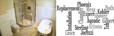 Sterling Bathtub Installation Bath Tub Shower Installation Services Az Plumber Near Me