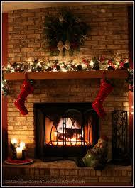 christmas decorating ideas fireplace mantel room design decor