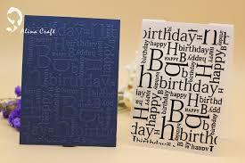 Diy Scrapbook Album Aliexpress Com Buy Plastic Embossing Folder Happy Birthday