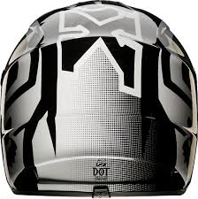 youth fox motocross gear fox racing 2015 v1 youth helmet imperial black white fox racing