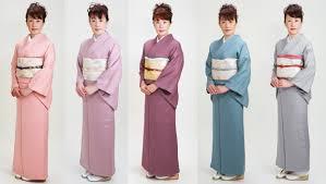 hanami types of kimono iromuji