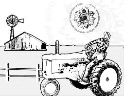 tractor coloring pages bestofcoloring com