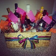 Bridal Shower Wine Basket Bridal Shower Wine Basket Ideas For Kelly U0027s Shower Pinterest