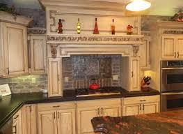 rustic kitchen backsplash rustic kitchen modish white kitchen cabinet finished with grey