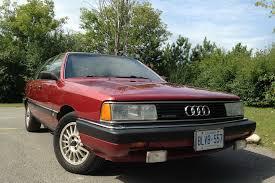 audi 5000 for sale mint 1986 audi 5000cs avant for sale in ottawa