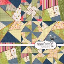 Shabby Chic Quilting Fabric by Second Life Marketplace Zambooki Textures Crazy Quilt Fabric
