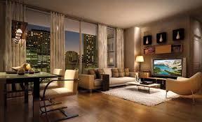 living room decor with flat screen tv orangearts small modern