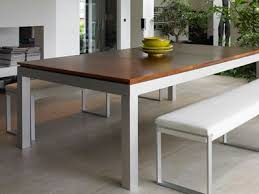 projects ideas stainless steel dining room table all dining room
