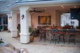 Stucco Patio Cover Designs Outdoor Kitchens Gallery Western Outdoor Design And Build Serving