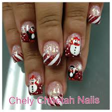 chely cheetah nails acrylic nails rockstar christmas nail art