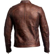 leather biker jackets for sale vintage cafe racer distressed brown biker leather jacket at amazon