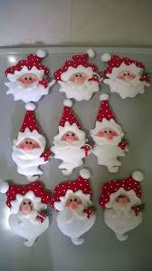 25 unique santa ornaments ideas on mini