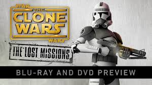 star wars the clone wars the lost missions blu ray and dvd