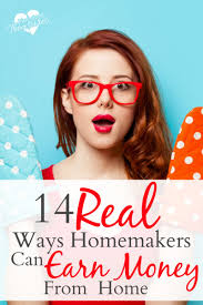 The Frugal Homemaker by 14 Real Ways Homemakers Can Earn Money From Home Pint Sized