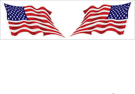 Free American Flag Stickers United States Wavy Flag 2 Pack Decal Sticker Buy 2 Packs Get 3rd
