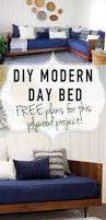 plywood mid century daybed diy cozy place building plans and