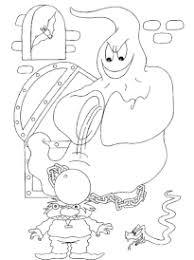 coloriage fantômes halloween sur hugolescargot com
