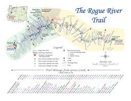 Oregon River Map by Oregon Hikers U2022 View Topic Rogue River Trail Lodge To Lodge