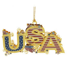 usa 3d christmas ornament handcrafted in the usa item 54437