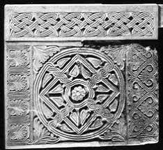 baptismal font of the croatian duke višeslav who ruled from 785