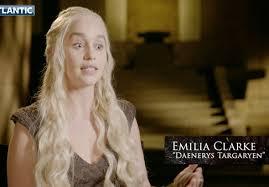 Emilia Clarke Bathtub Game Of Thrones U0027 Emilia Clarke Admits She Likes The Idea Of