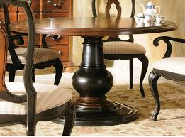 Round Dining Sets Dining Room Amazing Elegant Stylish Pedestal Round Table With Leaf
