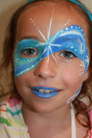 207 best face painting winter images on pinterest frozen face