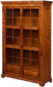 Amish Bookshelves by 41 Sliding Door Bookcase Bookcase With Sliding Glass Doors