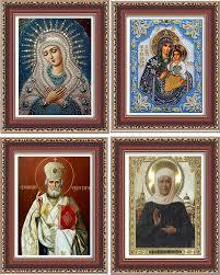 russian home decor aliexpress com buy cna 3d diy diamond painting russian religion