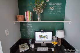 Kitchen Desk Ideas Kitchen Desk Ideas U0026 A 0 Kitchen Office Makeover The Heathered Nest