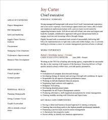 Sample Underwriter Resume by 15 Executive Resume Template Free Pdf Doc Sample