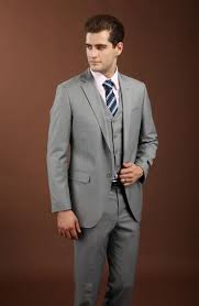 light gray suits for sale new bridal dress notched lapel suit light grey best man groom