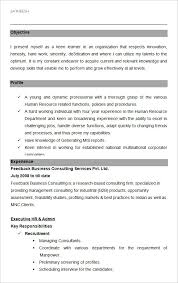 Latest Resume Samples For Experienced by 40 Hr Resume Cv Templates Hr Templates Free U0026 Premium