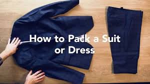how to travel with a suit images The best way to pack a suit or a dress so it won 39 t wrinkle jpg