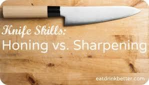 honing kitchen knives knife skills sharpening vs honing