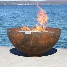 Firepit Bowls Big Bowl O Zen Sculptural Firebowl By T Unger T