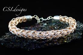 wire jewelry bracelet images Multi strand hollow wire kumihimo braid jpg