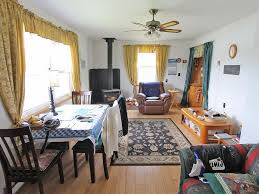 homes for sale in nova scotia renovated farmhouse st peters 550 ft waterfron bras d or lake