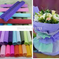 where can i buy crepe paper 250x50cm roll pink white colored crepe paper diy flower gift