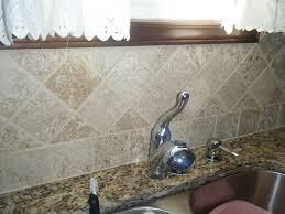Kitchen Countertop Backsplash Furniture White Starmark Cabinets With Merola Tile Backsplash And