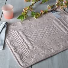 mikasa hush quilted cotton placemat palmerhaus