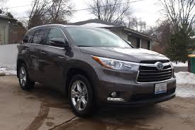 nissan highlander 2015 2015 toyota highlander hybrid limited why this ride