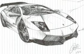 lamborghini sketch side view lamborghini sketch in by chrislah294 on deviantart