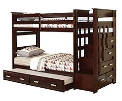 Youth Bunk Beds Major Q 10170 Comfort Youth Bunk Beds Espresso