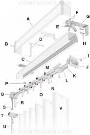Levolor Vertical Blinds Installation Instructions Design Stunning Levolor Blinds Parts For Admirable Window