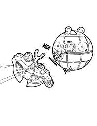 the death star angry bird star wars coloring pages the death star