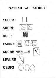 recette de cuisine gateau au yaourt gâteau au yaourt ecole maternelle s herbinière lebert