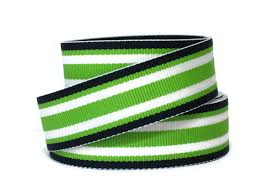blue and white striped ribbon 7 8 striped grosgrain ribbon by the yard surfboard
