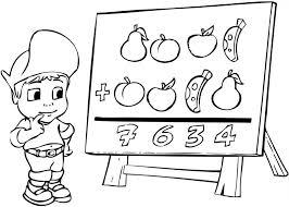 139 dessins de coloriage école à imprimer