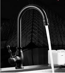 High Quality Kitchen Faucet High Quality New Kitchen Faucet Antique Black Brass 360 Degree